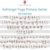 Adam Keen Primary Series Practice Sheet